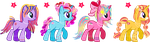 Ponys Auction IV Adoptables CLOSED by YukiMiyasawa