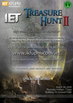 IET Treasure Hunt II by AK-studios