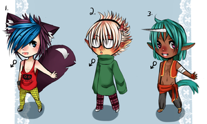 100 POINTS ONLY: adopts open ! by sonxfanchara