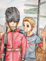 The Guard and the Tourist by MoPotter