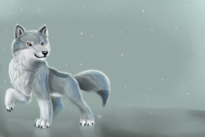 Wolf Pup by TigresaDaina