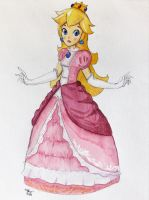 Princess Peach by Saiya-STORY