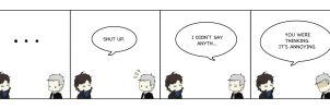 BBC Sherlock: Shut Up. by melelisun