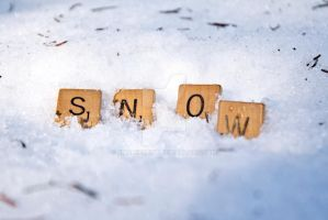 Scrabble winter addition- snow by EmaleeAnne