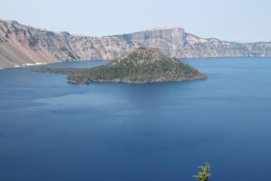 Crater Lake by foundinthought