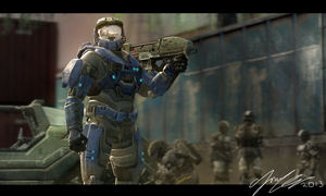 Halo - Ryley is Ready by cfowler7