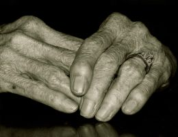 My Mother's Hands I by seeing-the-dark