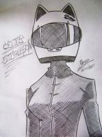 Celty Sturluson by lessa-ok