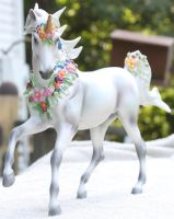 Breyer Unicorn Aurora Stock 6 by Lovely-DreamCatcher