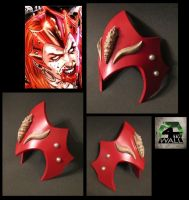 Red lantern Mera Crown by 4thWallDesign