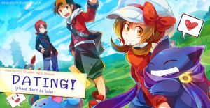 DATING! - Pokemon HGSS Fanbook by AquaZircon