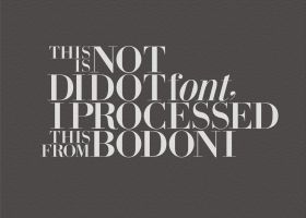 Processing from Bodoni by HiepHD