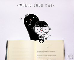 World Book Day by kusodesign
