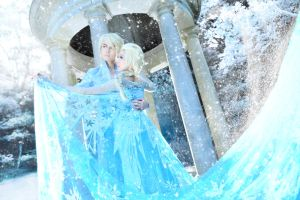 Ballad of Blizzards - King Elson and Queen Elsa by captamzai