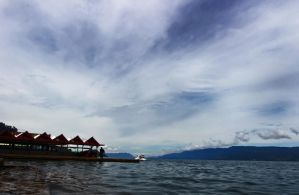 Lake Toba beach paris by dansmant