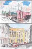 Travel sketches 1 by nan-says