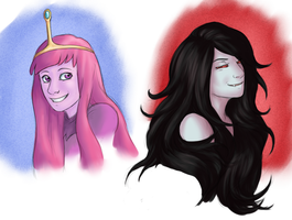 Adventure Time Gals by MelvisMD