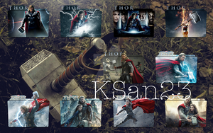 Thor (2) Large Packaged Icons by KSan23