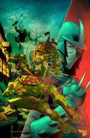 TMNT by Ryan Ottley by artmunki