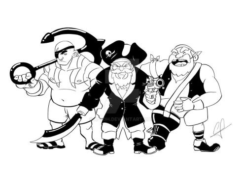 Pirates!! by k-yoh