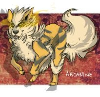 Arcanine by DoctorCritical