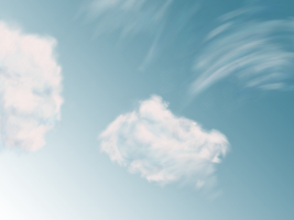 Bunches o Clouds by EmmersDrawberry