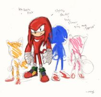 Alternate Knuckles, Sonic Boom by viperxmns
