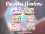 +Cassetes Avatars by natieditions00