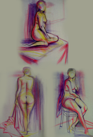 FIGURE DRAWINGS by BaneIing