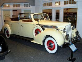1939 Packard Super 8 Phaeton owned by EVITA Peron by Partywave