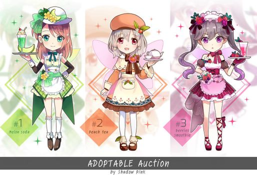 Adoptable Auction : Fairy cafe by sdPink