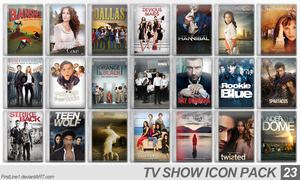 TV Show Icon Pack 23 by FirstLine1
