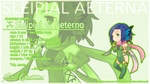 Sleipial Aeterna Profile Wallpaper by PerseBalthasaar