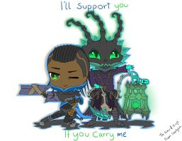 I'll support you if you carry me 3 by Izelyca