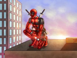 Watch Deadpool - colors by ZethKeeper