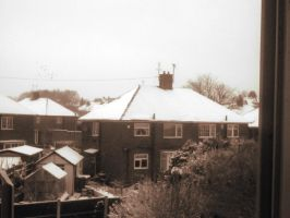 It's snowing in February 3 by LordReserei