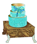 [OPEN Auction] Cake Adopt 001: Dragonfly by hiddengardenia