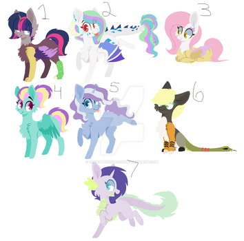 Trade Adopts #1 -Open- by Steampunksrock