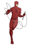 Commission - DareDevil by DeanGrayson