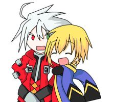 Blazblue - Hug by checkermania