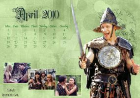 Calendar April 2010 by Aphrodian