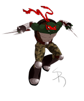 Raphael: ShellShock's version by SickRogue
