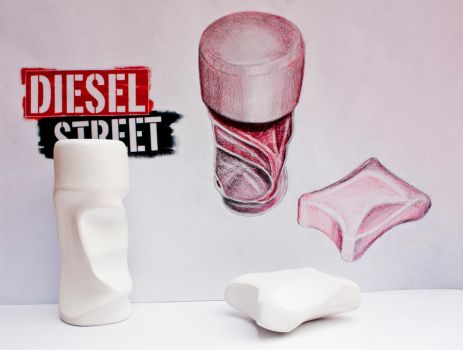 Diesel Street - Perfume Bottle by tedmer