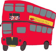 British bus by the-denied