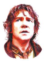 Bilbo Baggins (Martin Freeman) by Shuploc