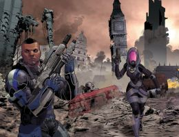 Mass Effect Homeworlds 1 and 2 by MisterHardtimes
