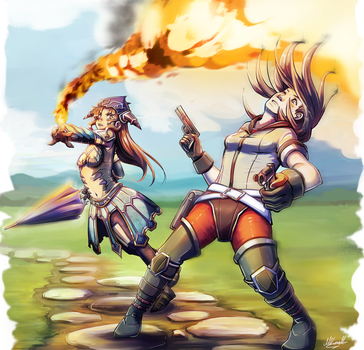 Final Fantasy Explorers by Lubrian