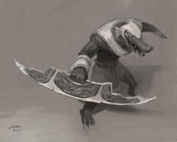 League of Legends: Renekton by Alex-Chow