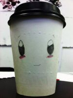 a cup..with a face? by lovexmyxlifex