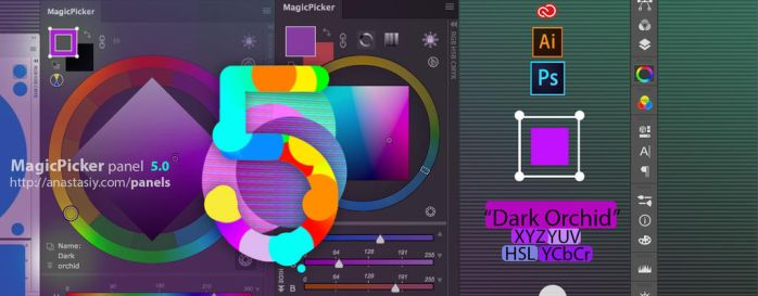 It's here all new! MagicPicker 5.0 just arrived by Anastasiy